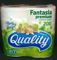 QUALITY Premium 200  100% celuloza